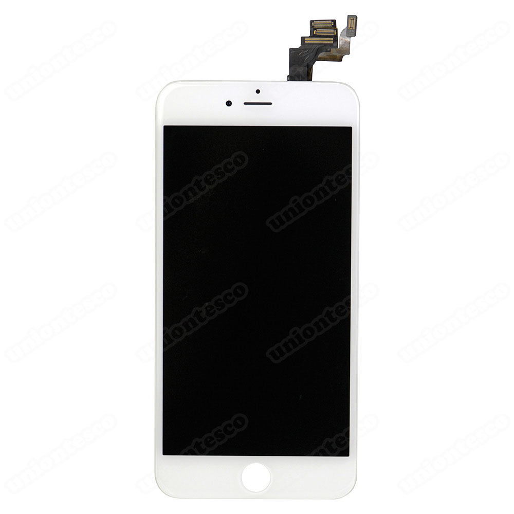 iPhone 6 Plus LCD Screen Full Assembly without Home Button - White