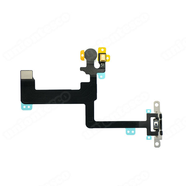 iPhone 6 Plus Power Button Flex Cable with Metal Bracket Assembly