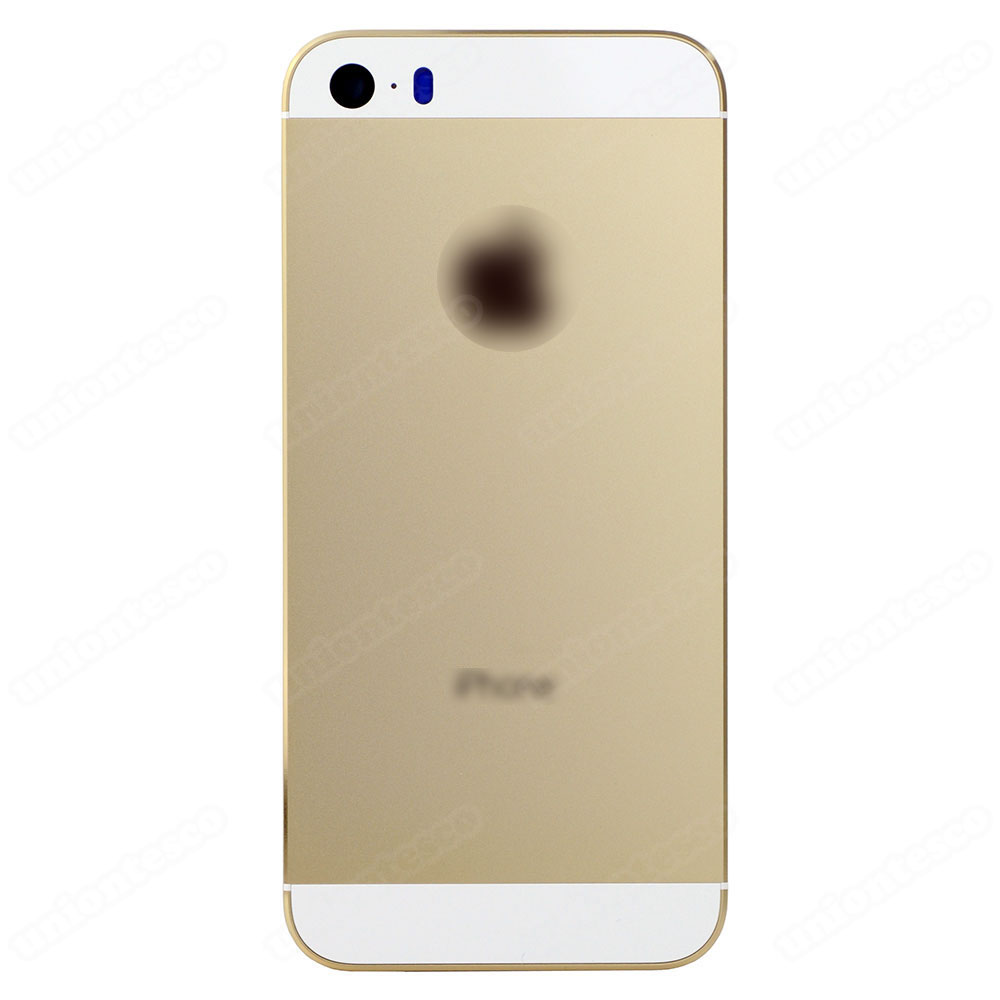 iPhone 5S Back Cover - Gold