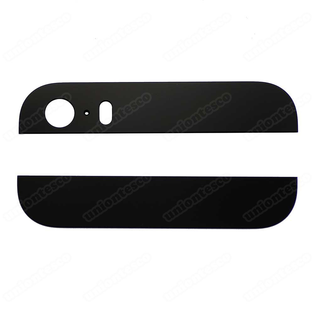 iPhone 5S Black Back Glass Cover