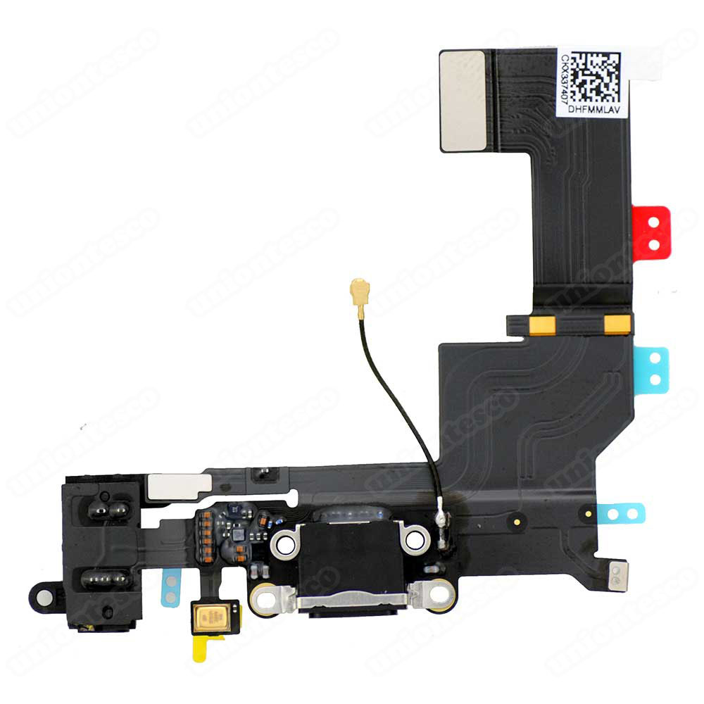 iPhone 5S Dock Connector Flex Cable Black
