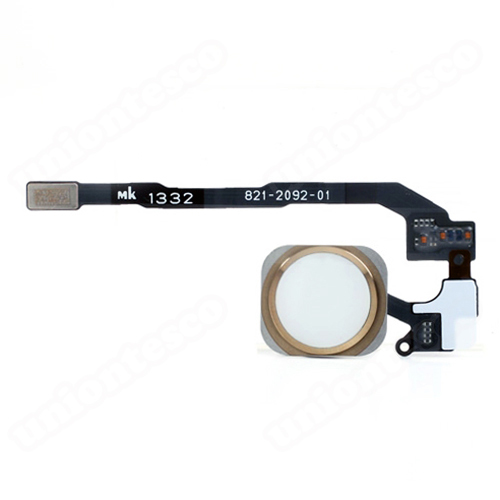 iPhone 5S Home Button Assembly - Gold