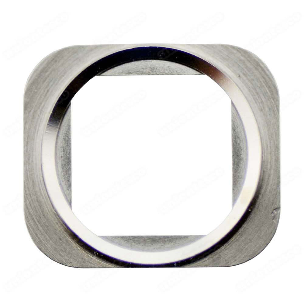 iPhone 5S Home Button Metal Ring - Silver
