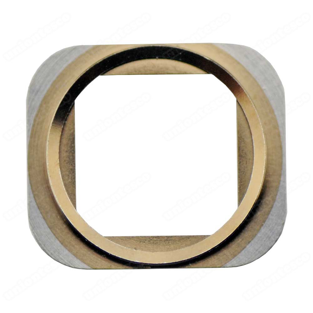 iPhone 5S Home Button Metal Ring - Gold