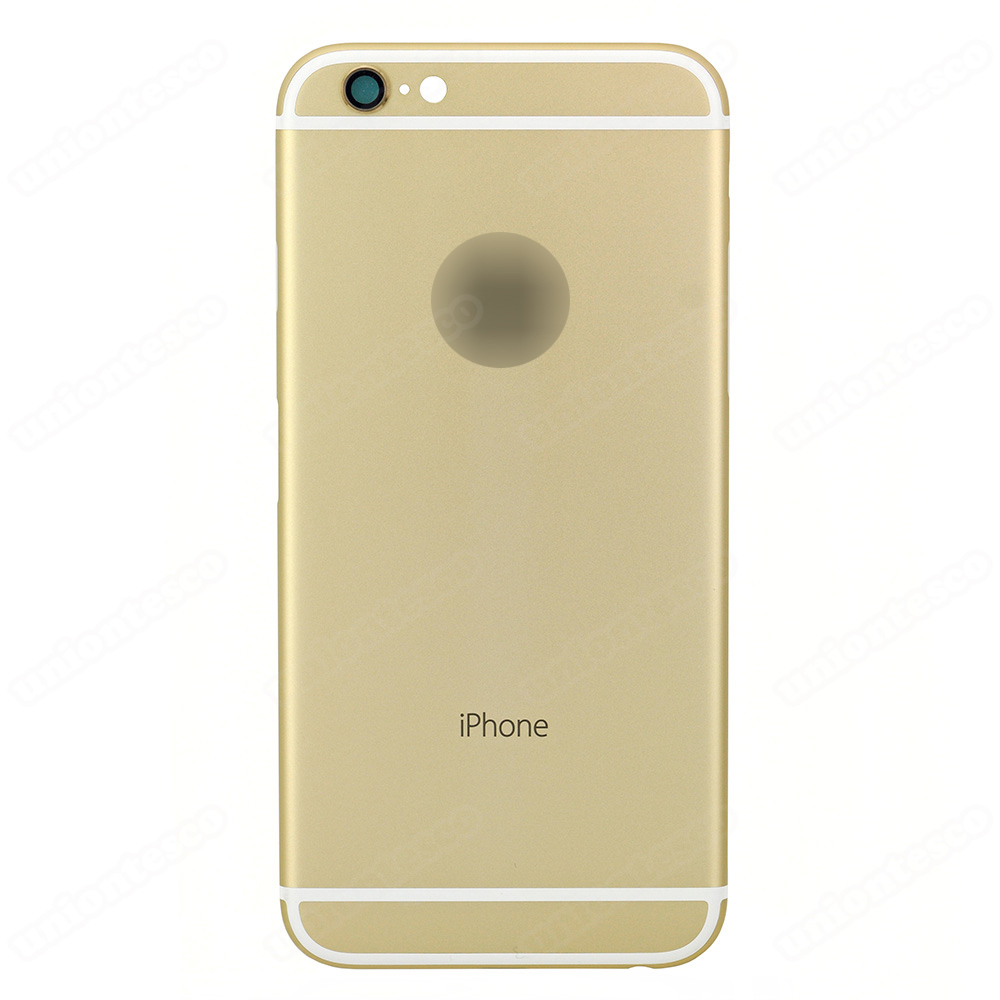 iPhone 6 Back Cover - Gold