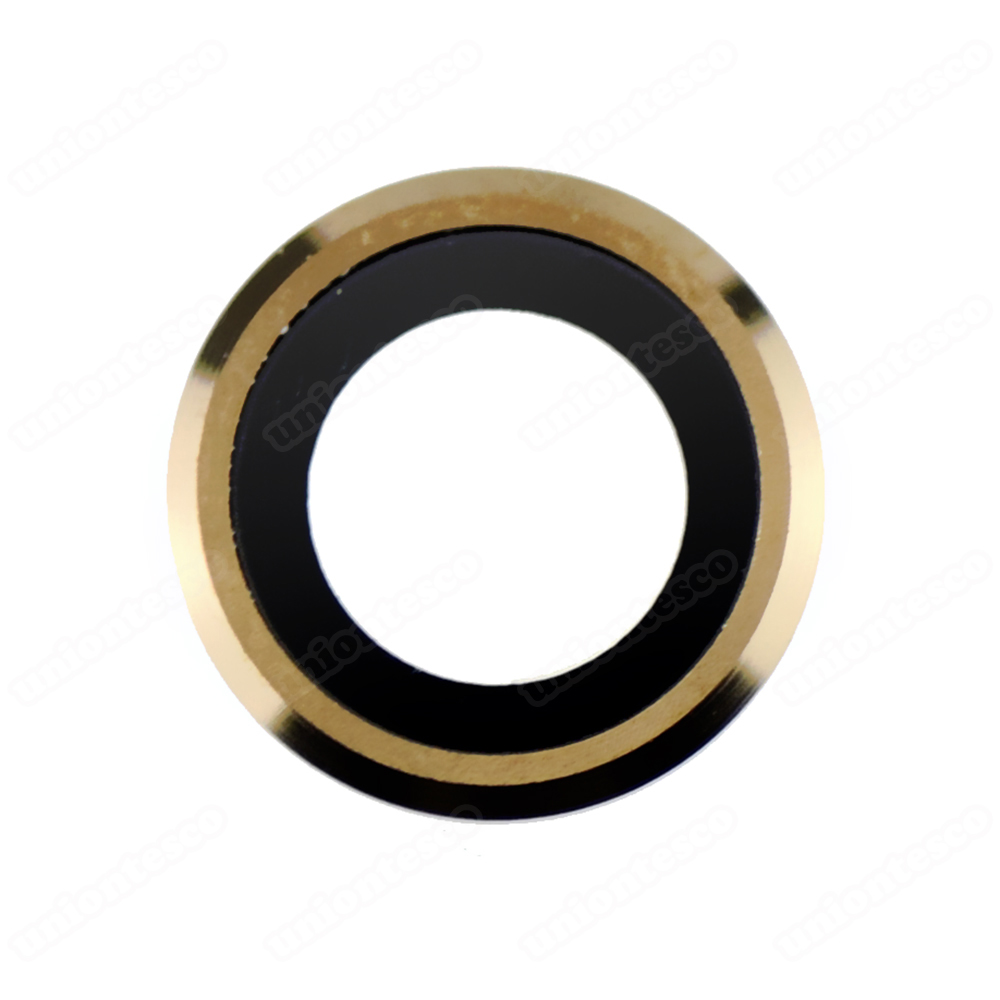 iPhone 6 Plus Rear Camera Holder with Lens - Gold