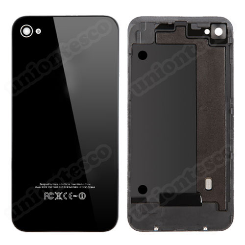 iPhone 4 Back Cover with Frame Black