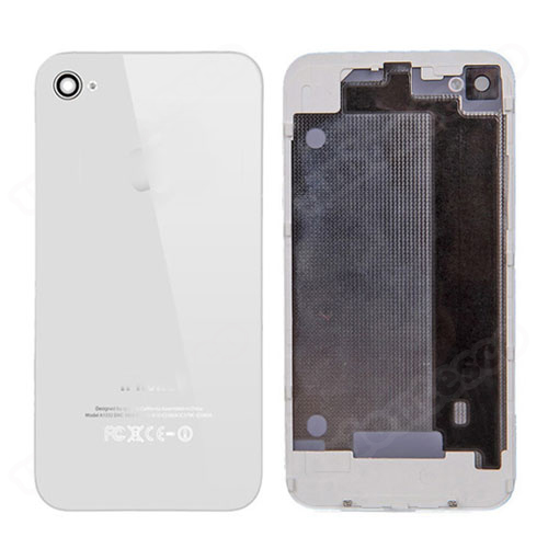 iPhone 4 Back Cover with Frame White