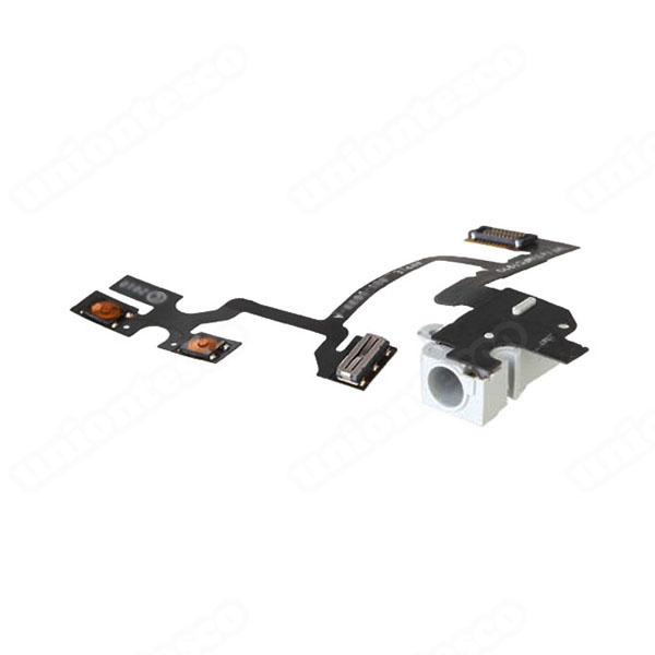 iPhone 4 Headphone Jack Flex Cable White