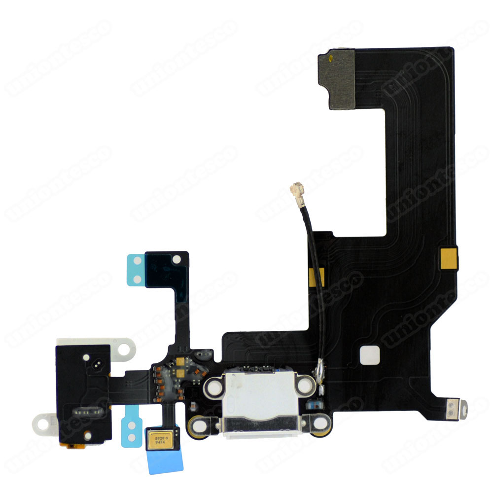 iPhone 5 Headphone & Lightning Connector Flex Cable White