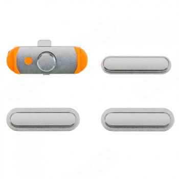 iPad mini 3 & iPad Air Side Buttons Set Silver