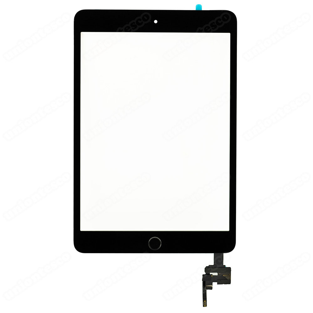 iPad Mini 3 Digitizer Assembly With Black Home Buttom Assembly - Black