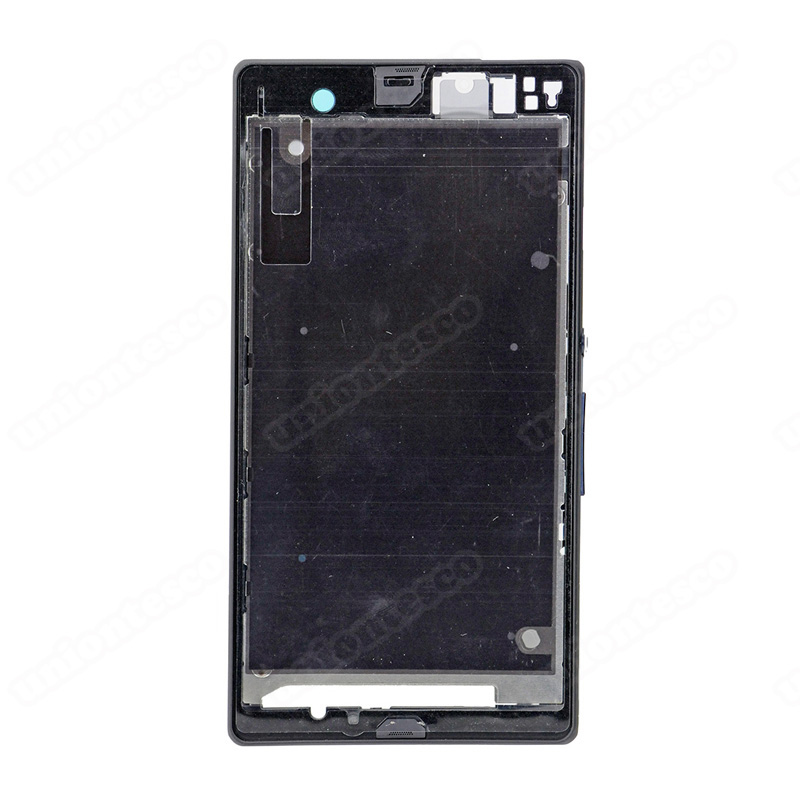 Sony Xperia Z L36h Front Housing Black