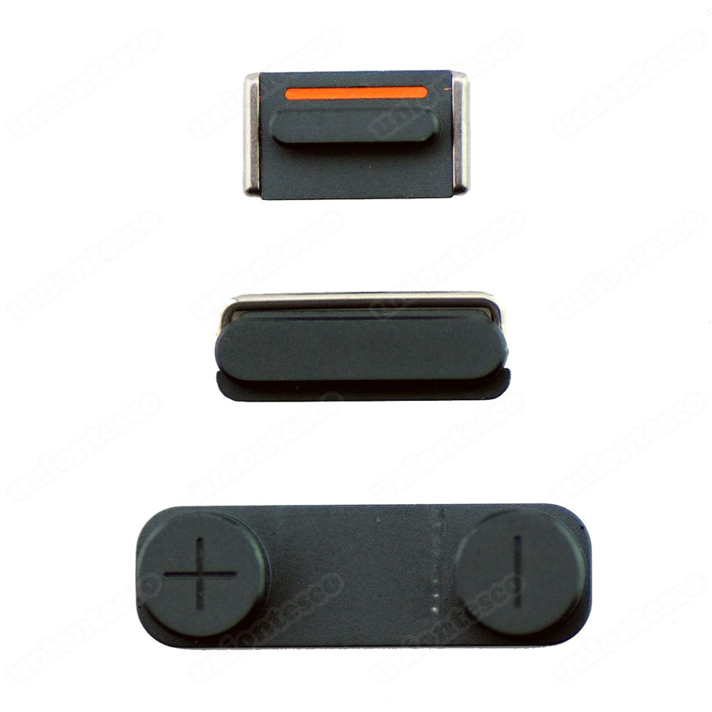 iPhone 5 Side Buttons Black