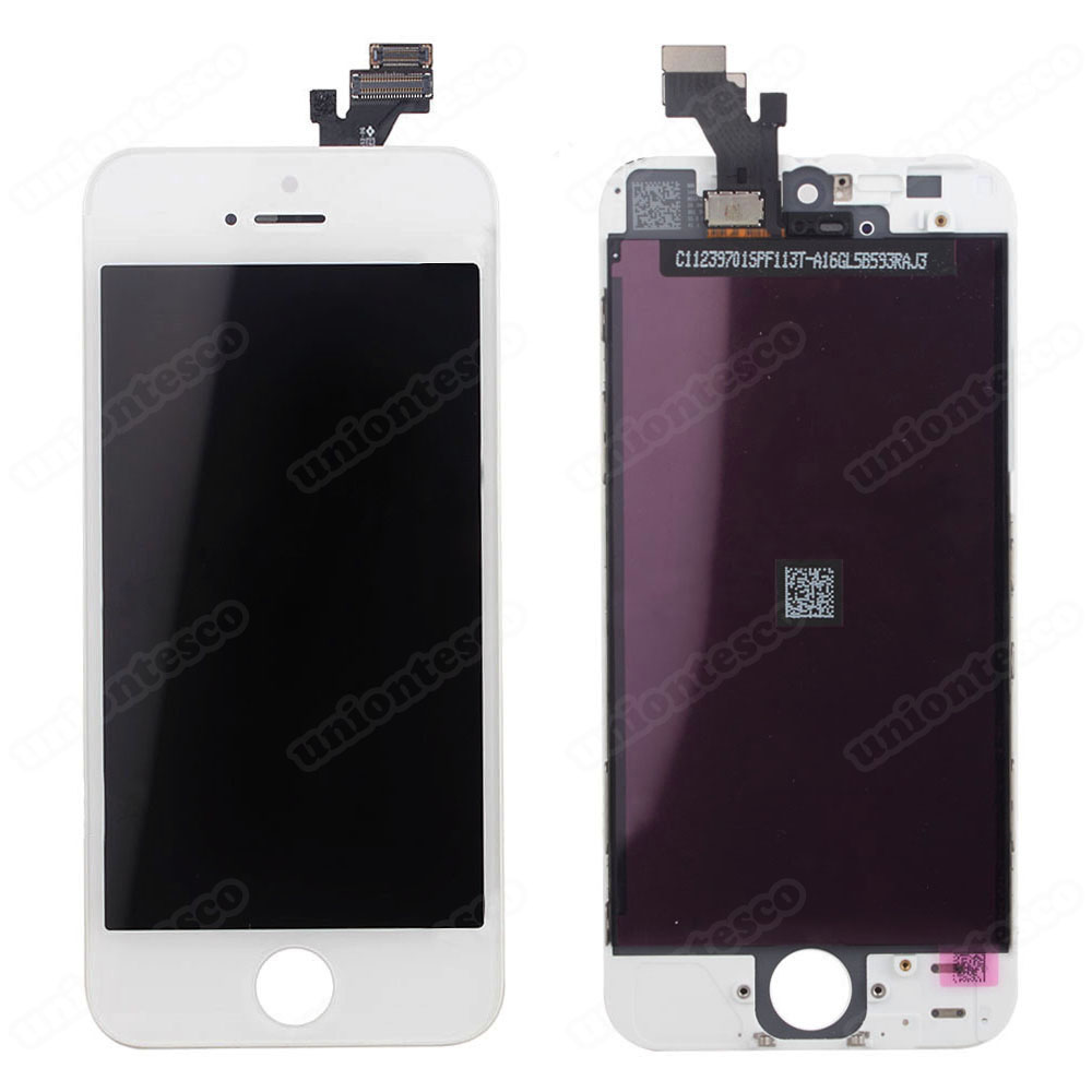 iPhone 5 LCD with Digitizer Assembly White