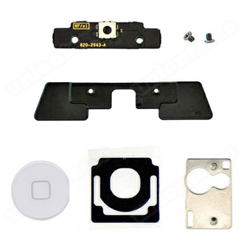 iPad 2 Digitizer Mounting Kit with White Button