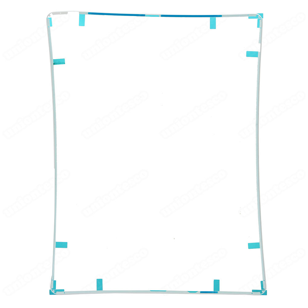 iPad 2 LCD Screen Supporting Frame with Adhesive White