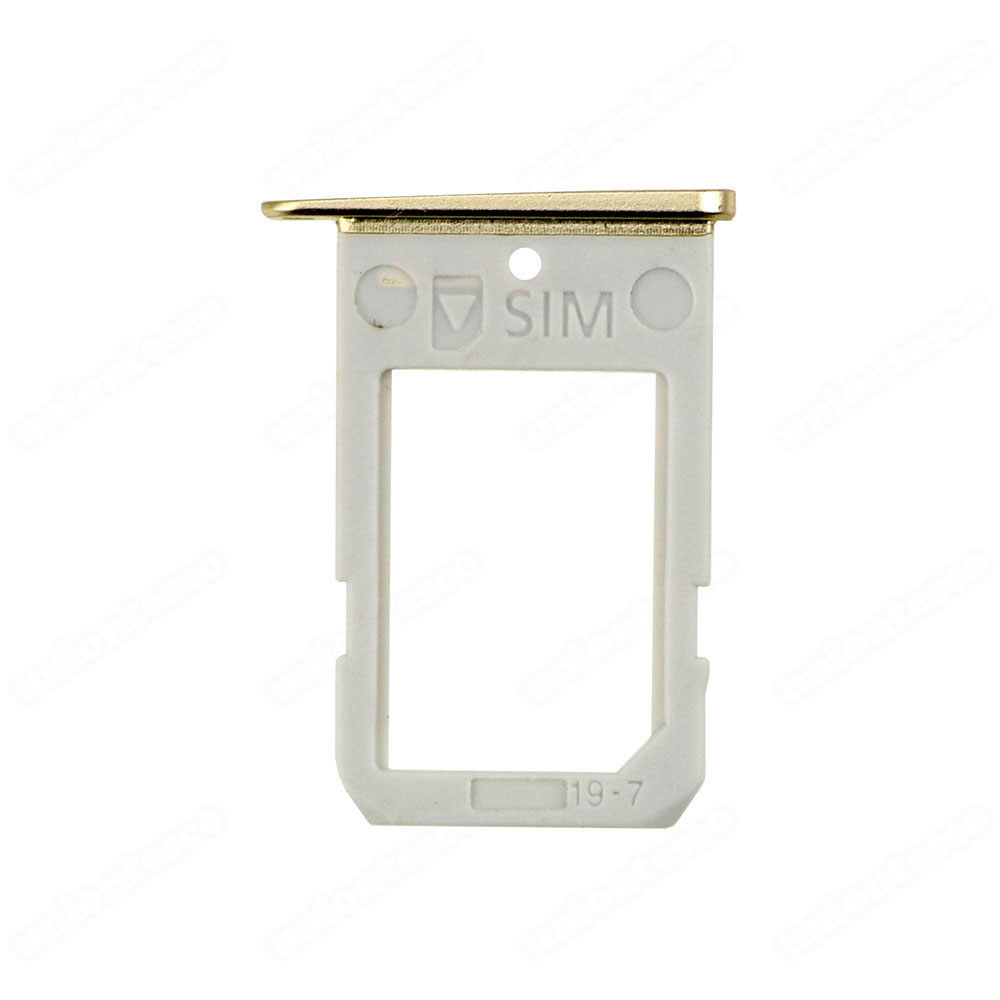 Samsung Galaxy S6 Edge Series SIM Card Tray - Gold