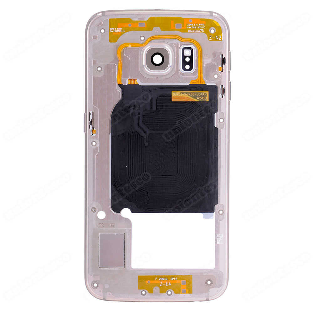 Samsung Galaxy S6 Edge SM-G925 Rear Housing - Gold