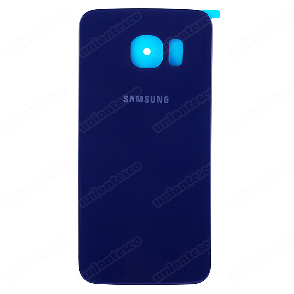 Samsung Galaxy S6 Edge SM-G925A Battery Door With Adhesive Pebble Blue