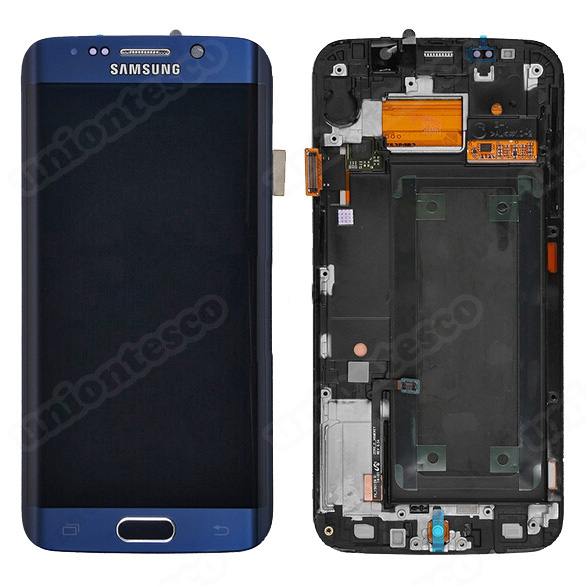 Samsung Galaxy S6 Edge LCD Screen and Digitizer Assembly with Front Housing - Sa