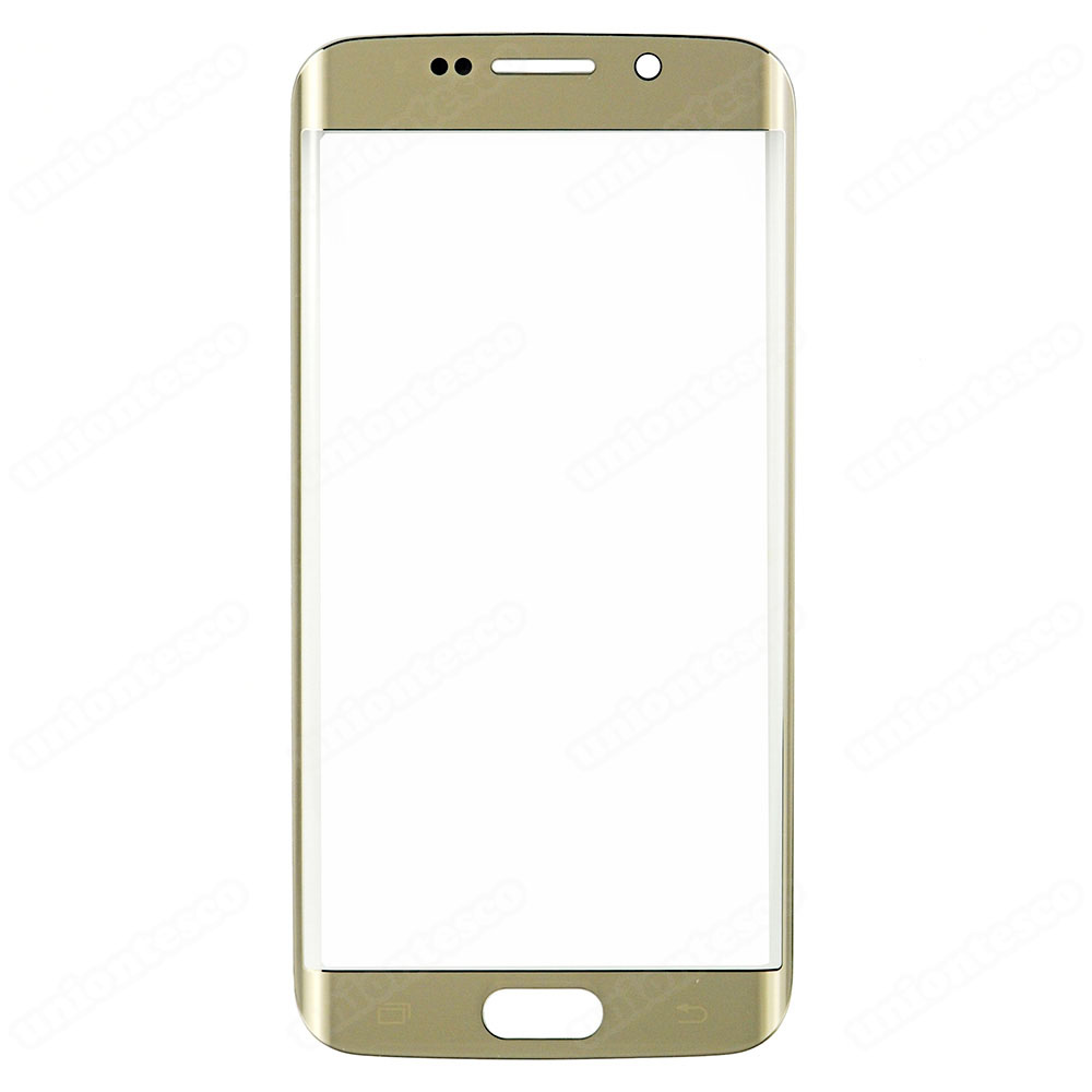 Samsung Galaxy S6 Edge Front Glass Lens - Gold