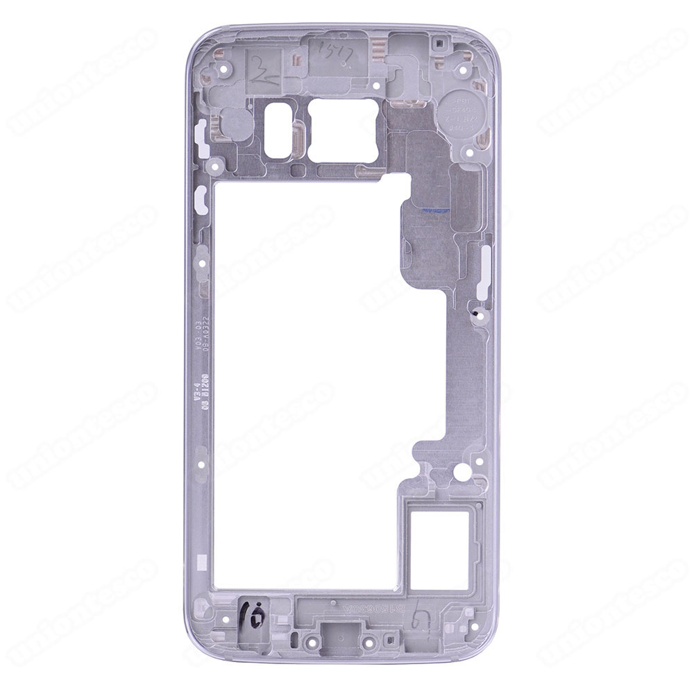 Samsung Galaxy S6 Edge SM-G925 Rear Housing Frame Without Small Parts Grey