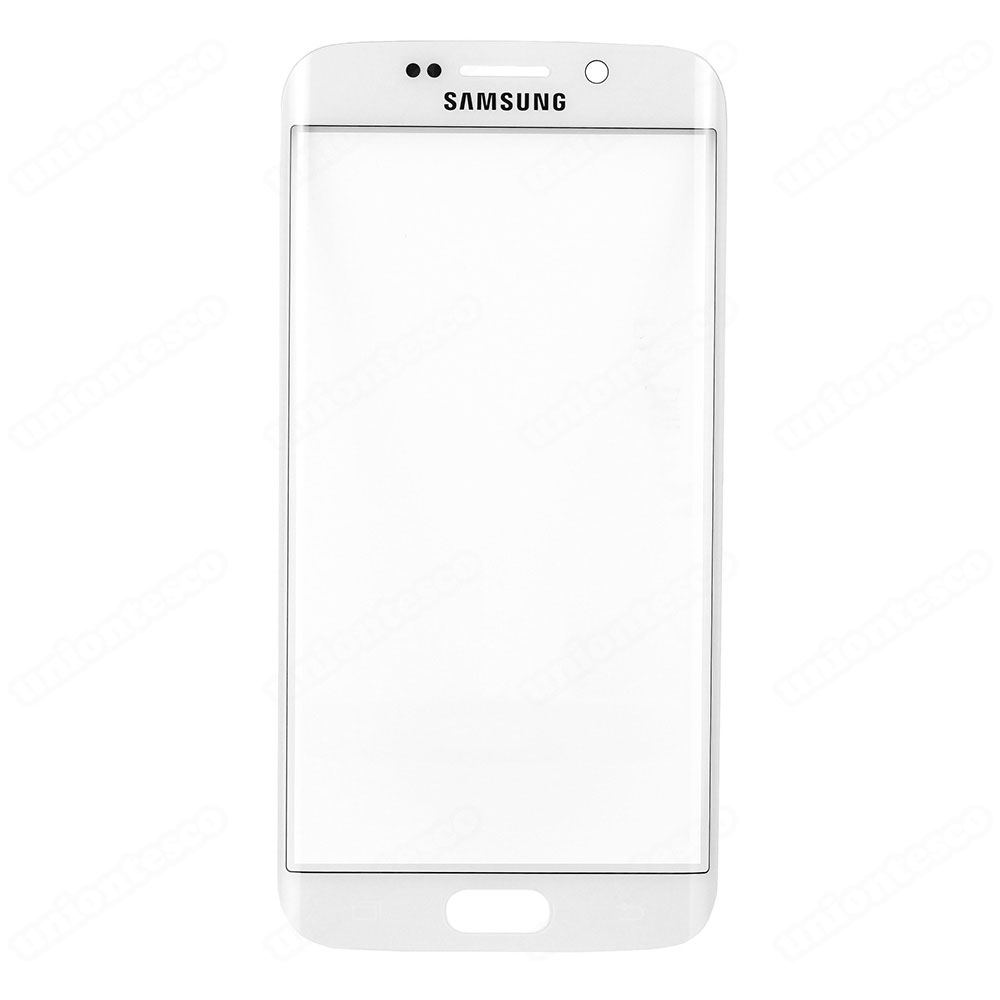 Samsung Galaxy S6 Edge Front Glass Lens - White