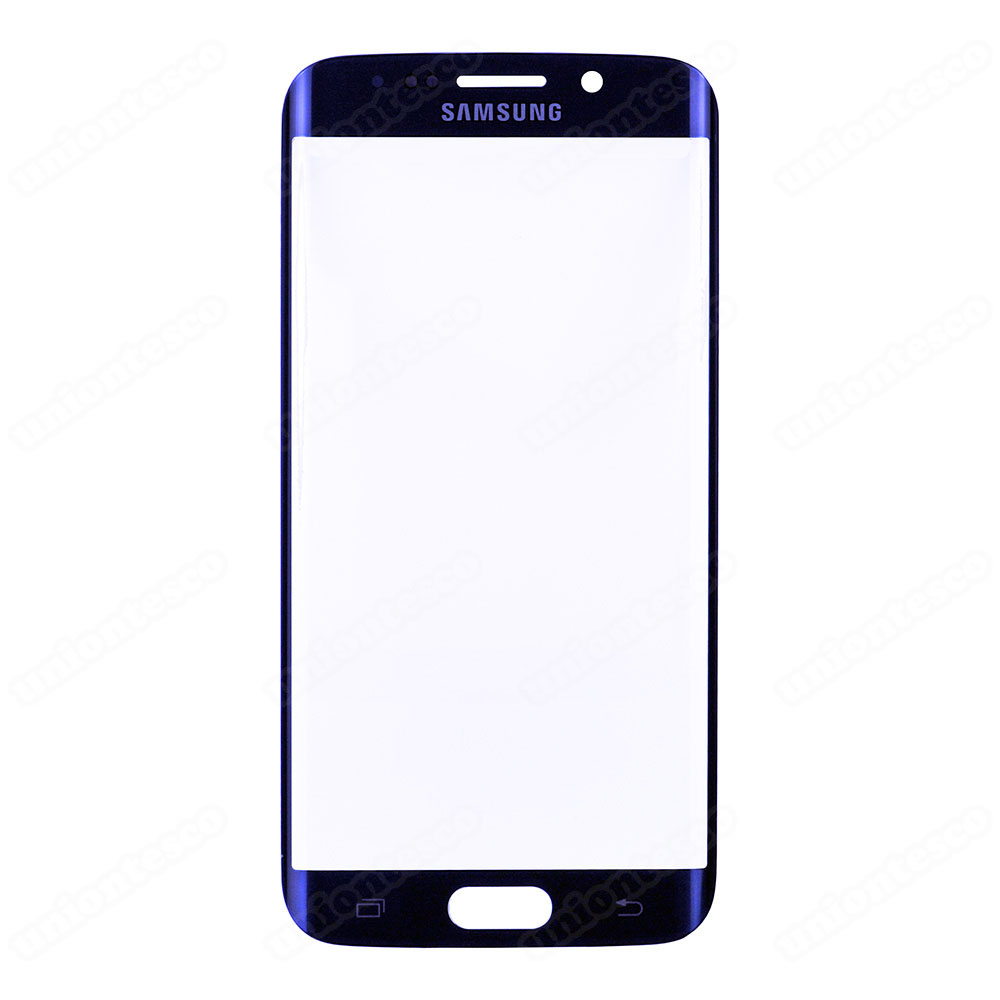 Samsung Galaxy S6 Edge Front Glass Lens - Pebble Blue