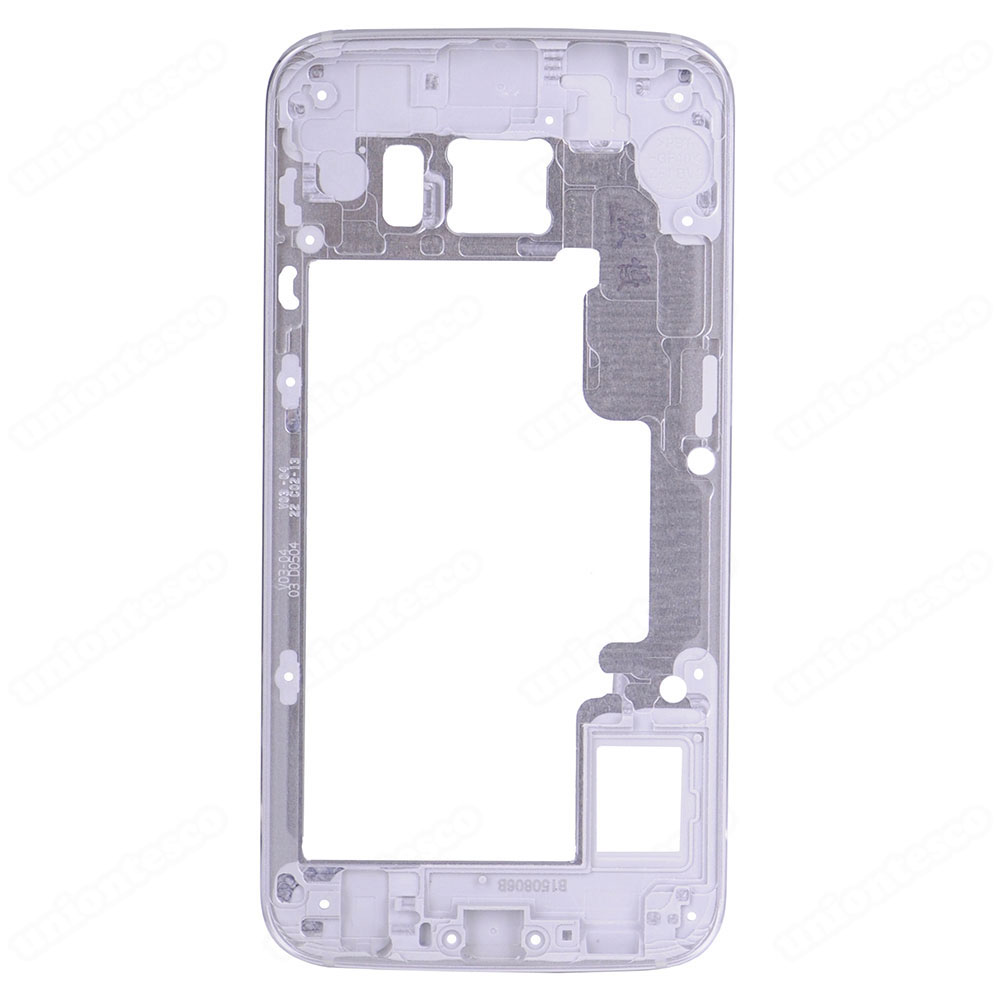 Samsung Galaxy S6 Edge SM-G925 Rear Housing Frame Without Small Parts Silver