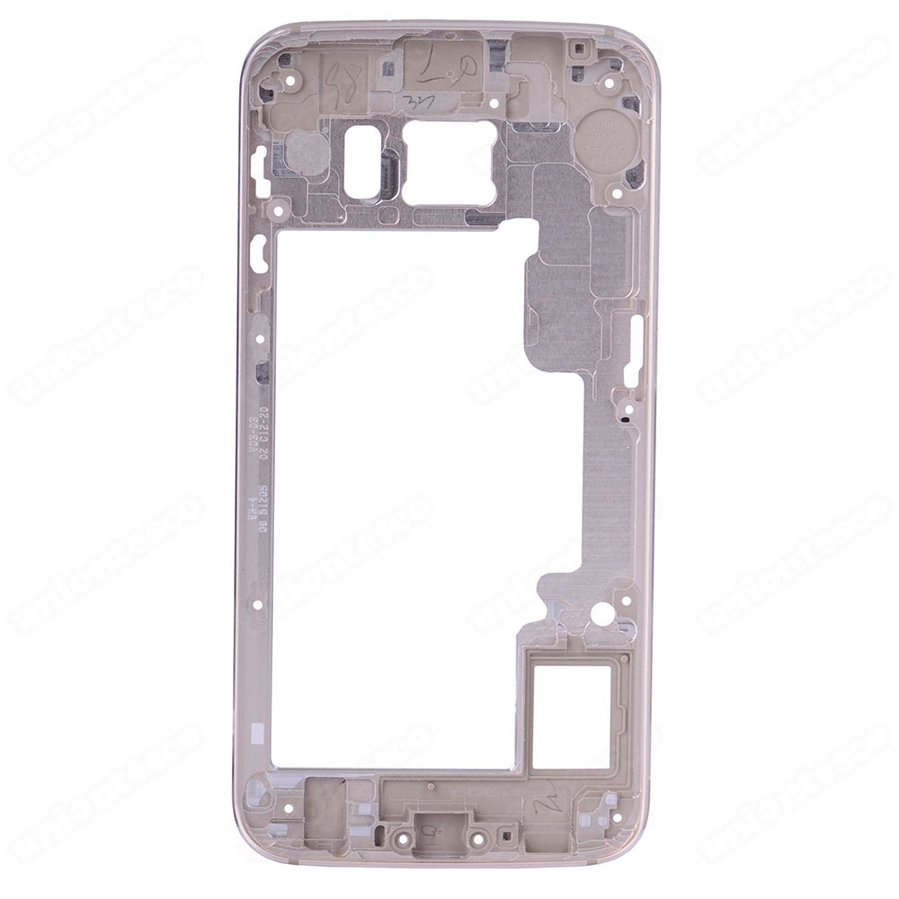 Samsung Galaxy S6 Edge SM-G925 Rear Housing Frame Without Small Parts Gold