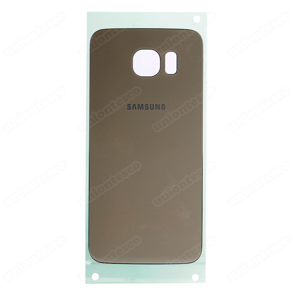 Samsung Galaxy S6 SM-G920 Back Cover With Adhesive - Gold