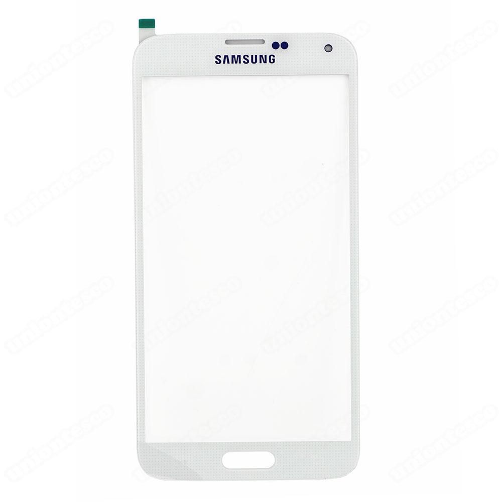 Samsung Galaxy S5 Front Glass White