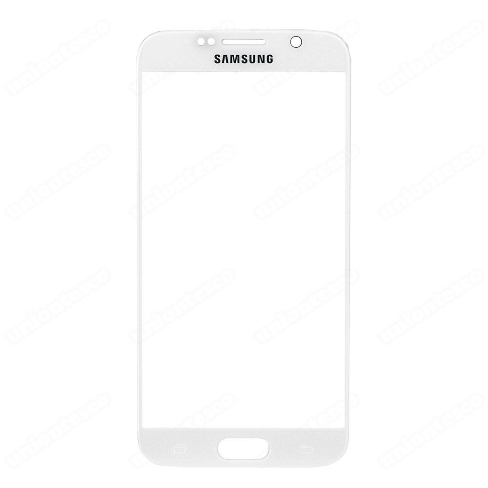 Samsung Galaxy S6 Front Glass Lens - White