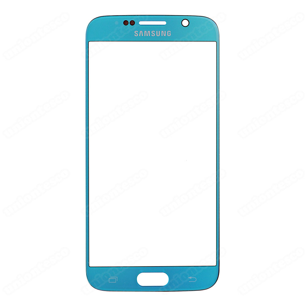 Samsung Galaxy S6 Front Glass Lens - Lake Blue