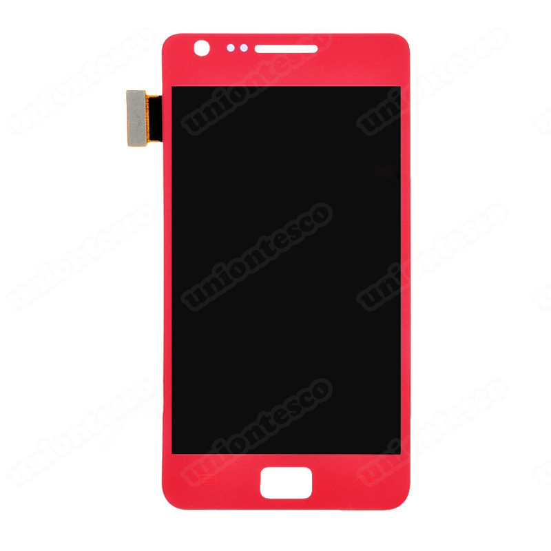 Samsung Galaxy S2 I9100 LCD with Digitizer Assembly Red
