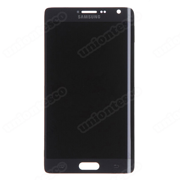 Samsung Galaxy Note Edge  LCD Screen Without Home Button - Black