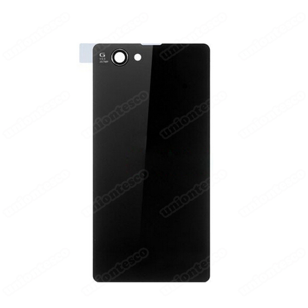 Sony Xperia Z1 Compact Back Cover - Black
