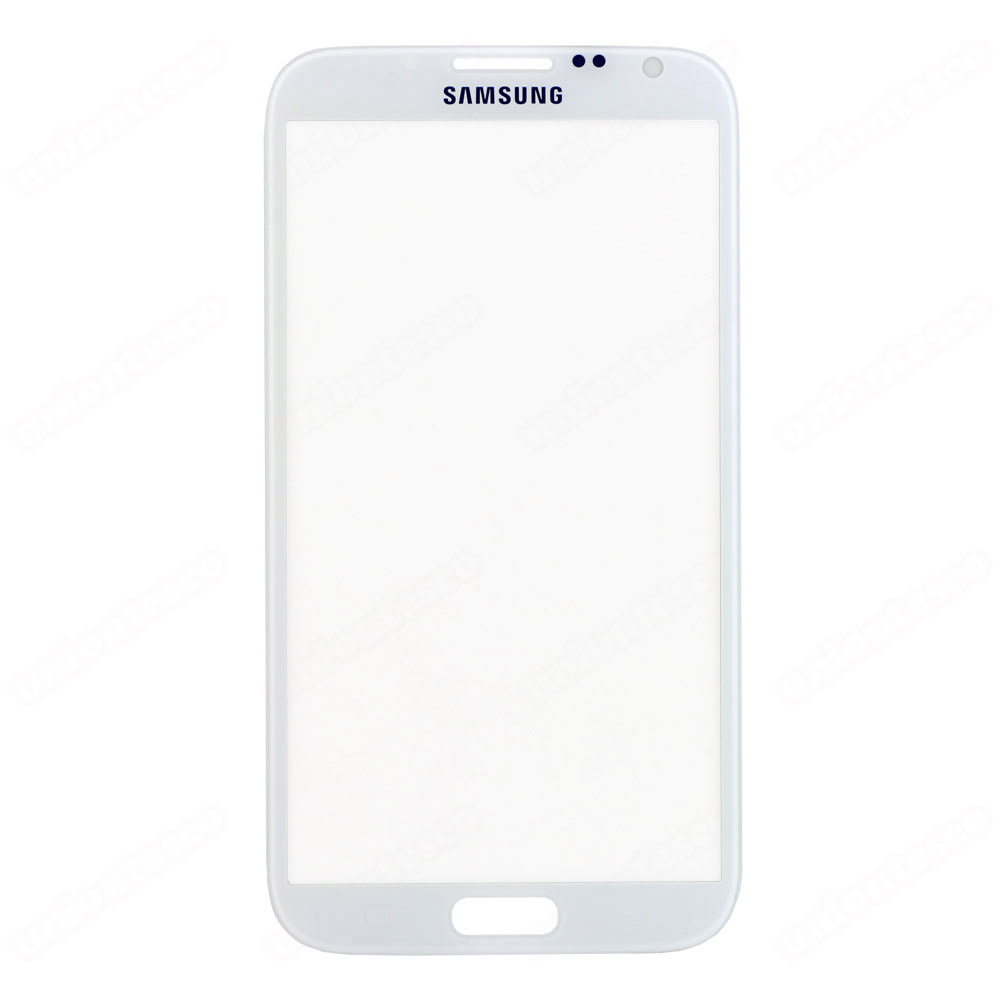 Samsung Galaxy Note 2 N7100 Front Glass White