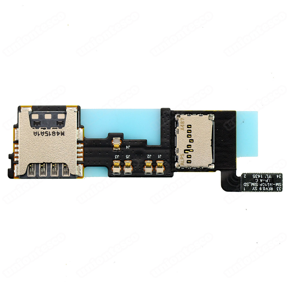 Samsung Galaxy Note 4 N910F SD&SIM Card Slot