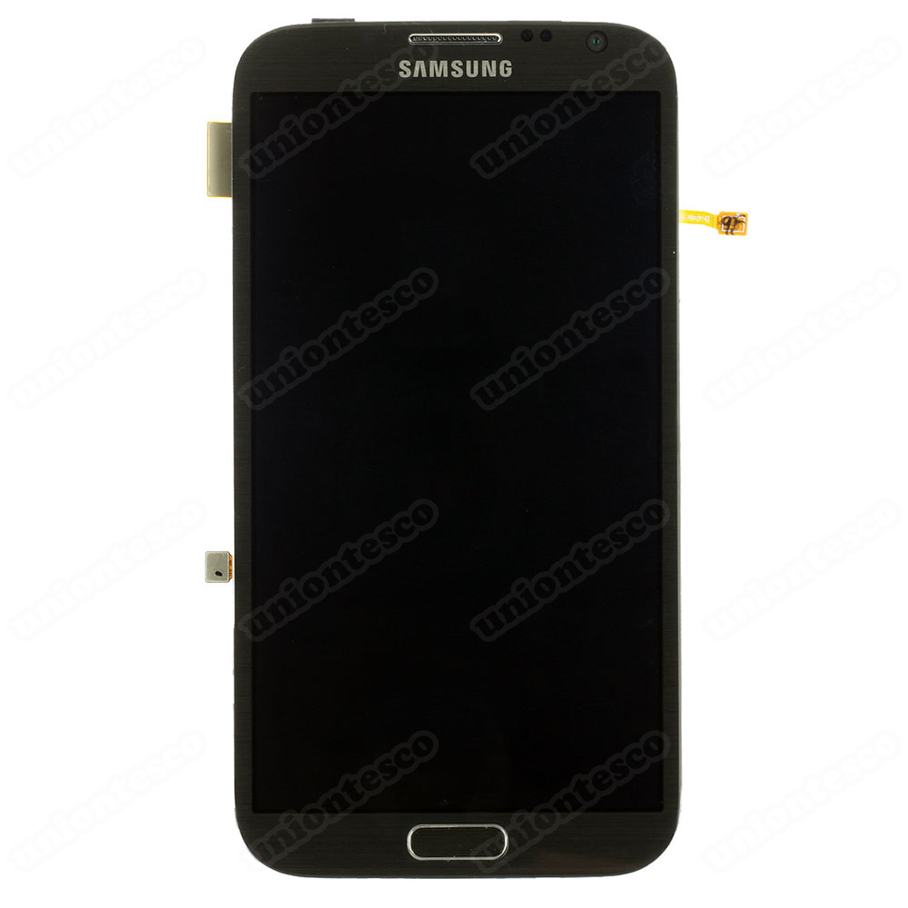 Samsung Galaxy Note II N7100 LCD Screen Digitizer with Front Housing Gray