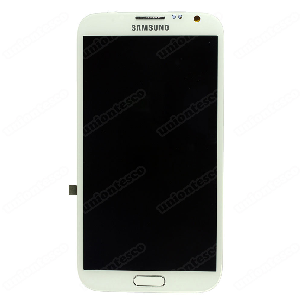 Samsung Galaxy Note II N7100 LCD Screen Digitizer with Front Housing White