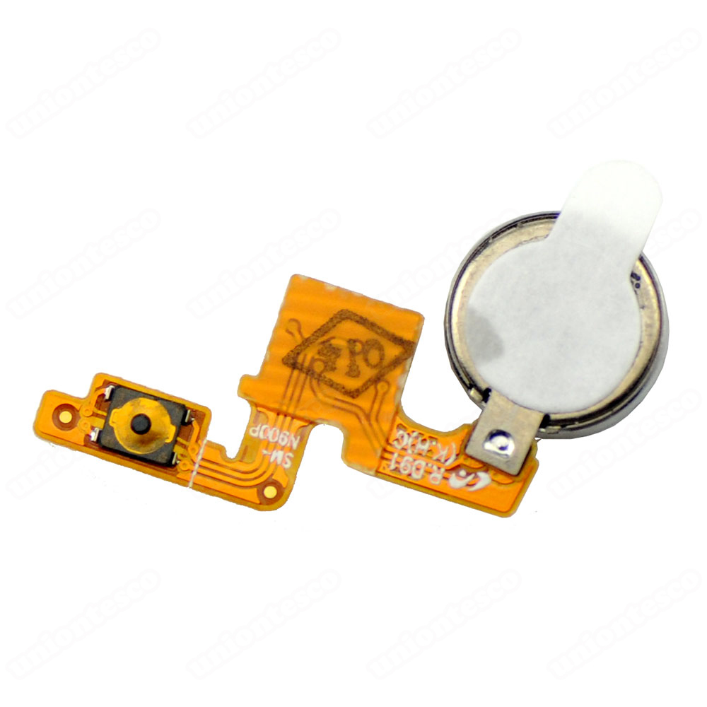 Samsung Galaxy Note 3 Power Button Flex Cable with Vibrator Motor
