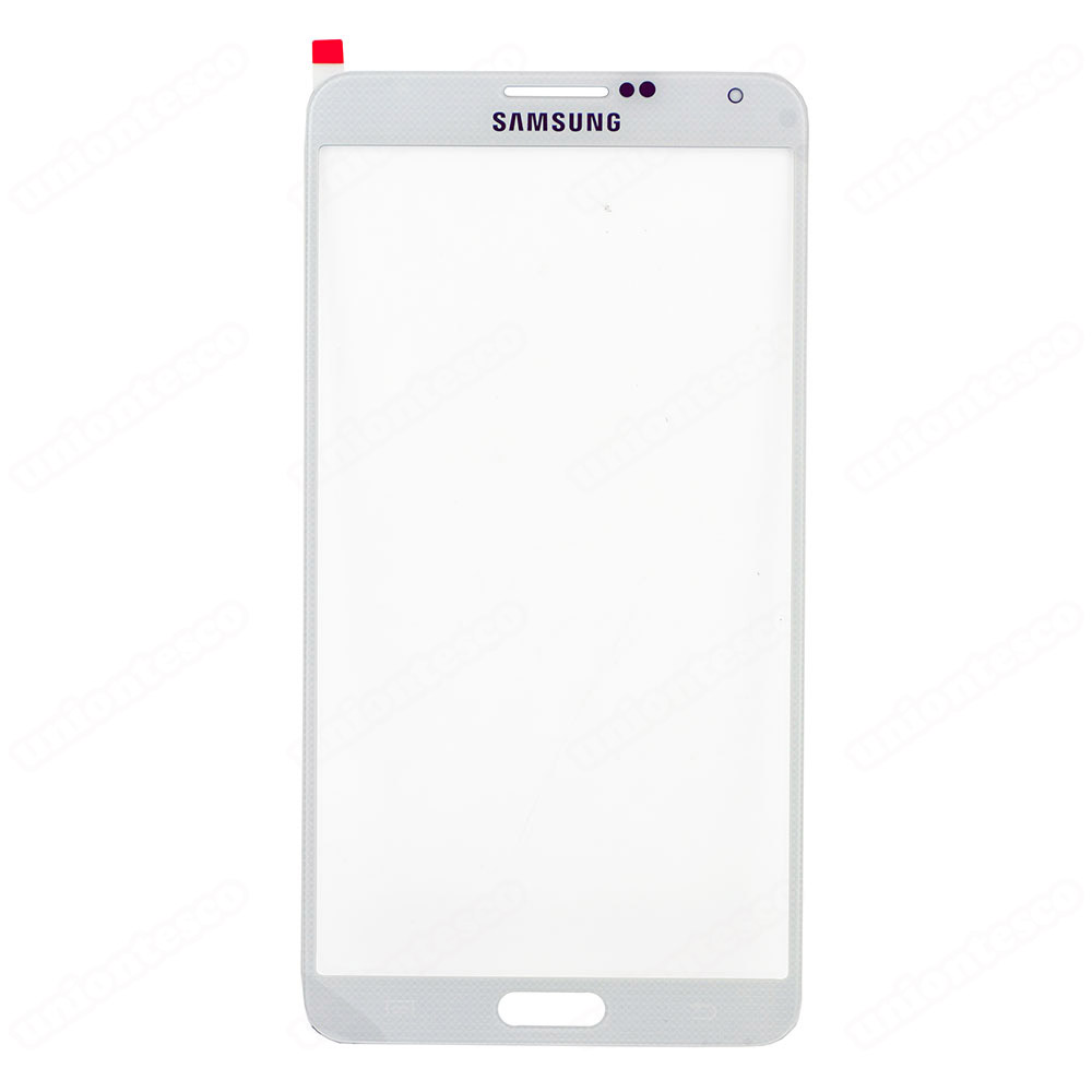 Samsung Galaxy Note 3 Front Glass White