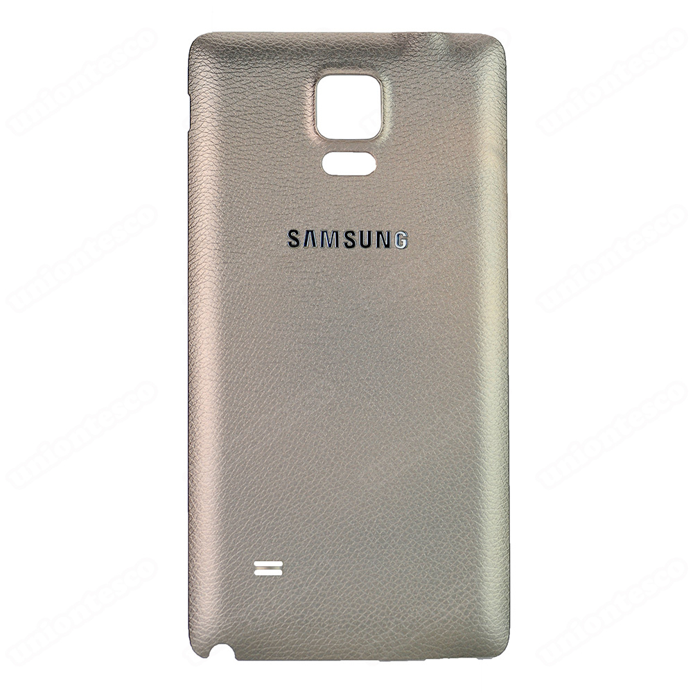 Samsung Galaxy Note 4 Back Cover-Gold