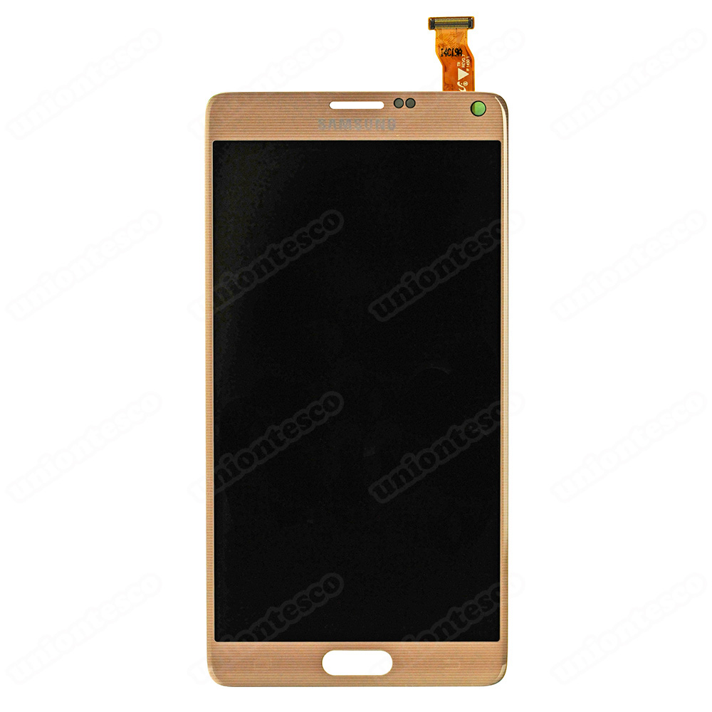 Samsung Galaxy Note 4 LCD with Digitizer Assembly - Gold